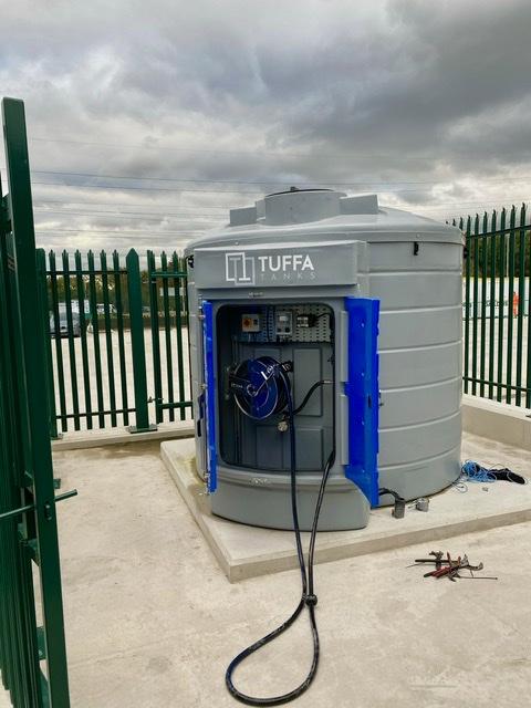 Plastic Adblue storage tank