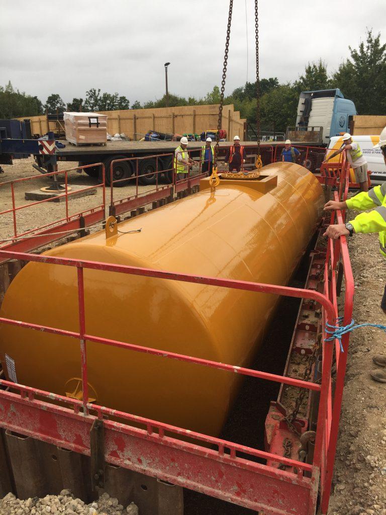 Below Ground Fuel Storage Tanks