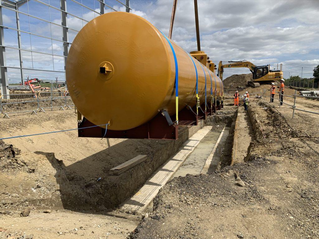 Vectec underground diesel storage tank